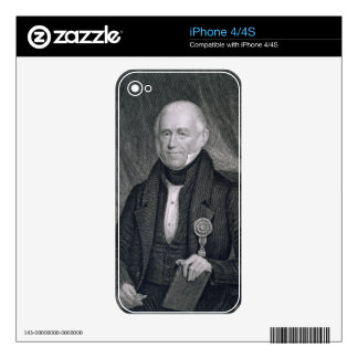 Morgan Lewis, engraved by Asher Brown Durand (1796 Decals For The iPhone 4