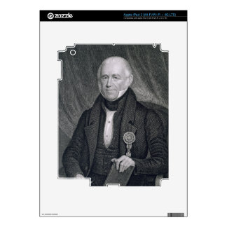 Morgan Lewis, engraved by Asher Brown Durand (1796 iPad 3 Skin