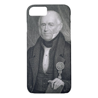 Morgan Lewis, engraved by Asher Brown Durand (1796 iPhone 8/7 Case
