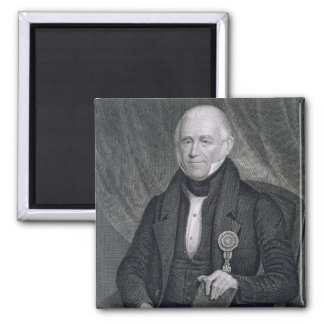 Morgan Lewis engraved by Asher Brown Durand 1796 Magnet