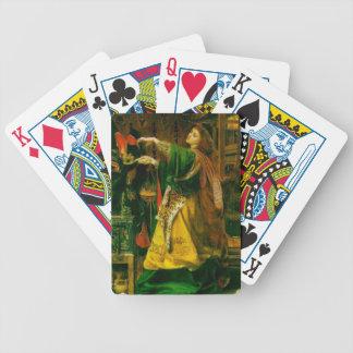 MORGAN L'FAY Playing Cards
