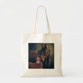 Morgan Mare and Foal Tote Bags