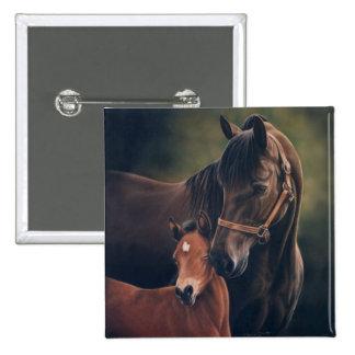 Morgan Mare and Foal Pin