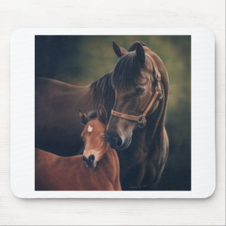 Morgan Mare and Foal Mouse Pad