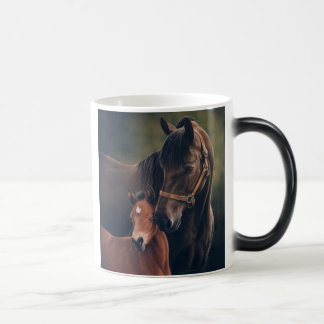 Morgan Mare and Foal Coffee Mugs