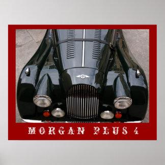Morgan más 4 - coche clásico impresiones