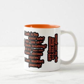 Morgan Two-Tone Coffee Mug