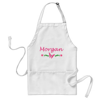 Morgan Pink Butterfly Apron