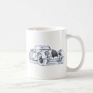 Morgan Plus 4 Classic White Coffee Mug