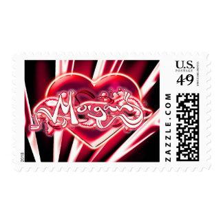 Morgan Postage Stamps