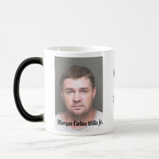 Morgan Rest In Peace Morphing Mug - Customized