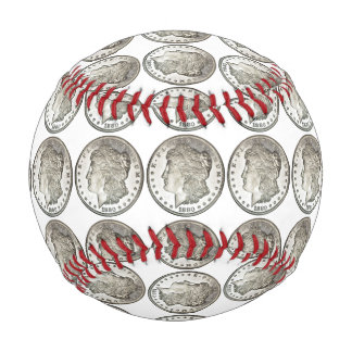 Morgan Silver Dollar Baseball