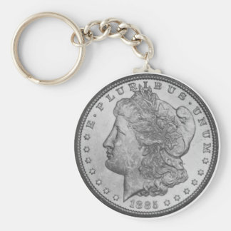 Morgan Silver Dollar Keychain