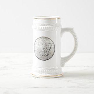 MORGAN SILVER DOLLAR COFFEE MUGS