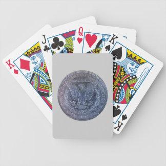 Morgan Silver Dollar Tail Poker Deck