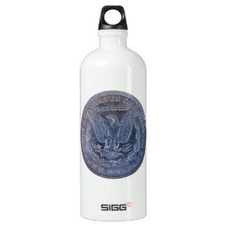 Morgan Silver Dollar Tail Water Bottle