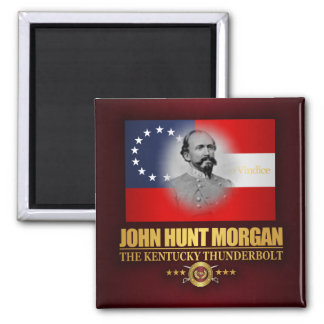 Morgan (Southern Patriot) 2 Inch Square Magnet