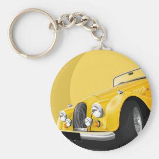 Morgan sportscar keychain