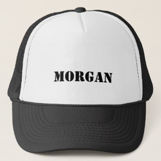 Morgan Trucker Hat