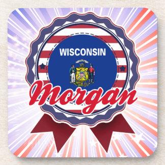 Morgan, WI Posavasos De Bebidas