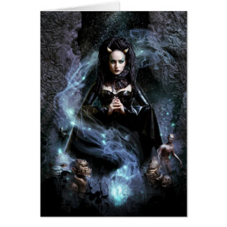 Morgana Greeting Card
