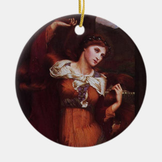 Morgana le Fay (Morgan Pendragon) Ceramic Ornament