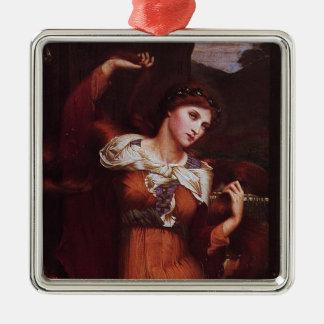 Morgana le Fay (Morgan Pendragon) Metal Ornament
