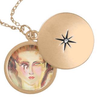 Morgana Locket Necklace