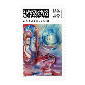 MORGANA POSTAGE STAMPS