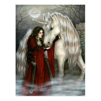 Morgana's Secret Postcard