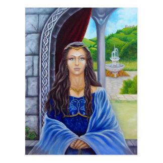 Morgane, sacerdotisa de Avalon Tarjetas Postales