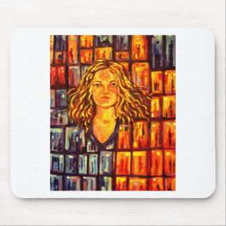 MORGANE WINDOWS ART MOUSE PAD