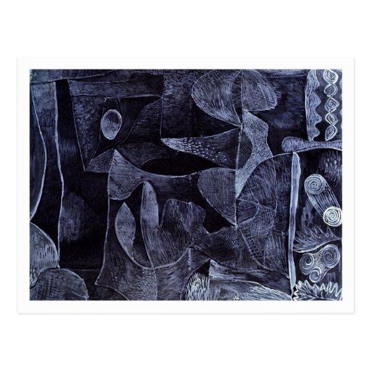 Morgangrau by Paul Klee Postcard