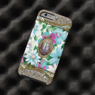 Morgans Grandlyn Floral Chic  6/6s Monogram Tough iPhone 6 Case