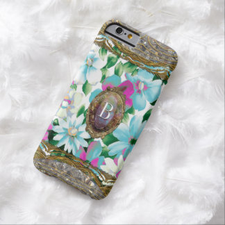 Morgans Grandlyn Floral Chic  Monogram  Slim Barely There iPhone 6 Case