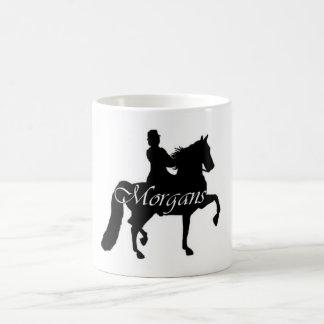 Morgans Classic White Coffee Mug