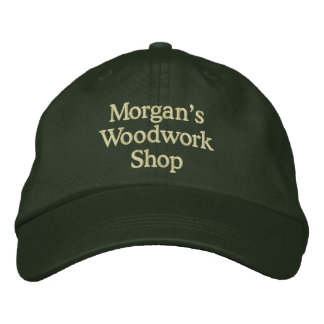 Morgan's Woodwork Shop Embroidered Baseball Hat