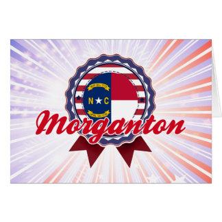 Morganton, NC Greeting Card
