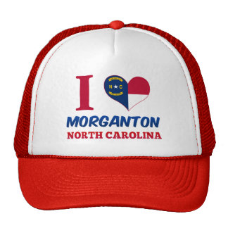 Morganton, North Carolina Trucker Hat