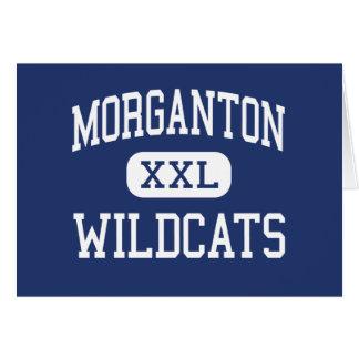 Morganton - Wildcats - High - Morganton Greeting Card