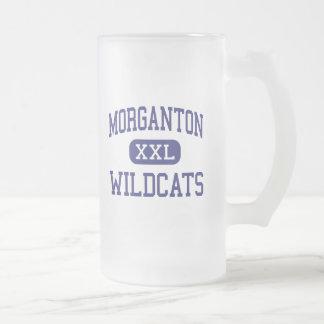 Morganton - Wildcats - High - Morganton 16 Oz Frosted Glass Beer Mug