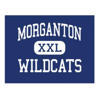 Morganton - Wildcats - High - Morganton Postcard