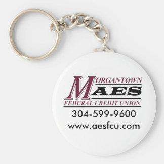 Morgantown aesfcu keychains