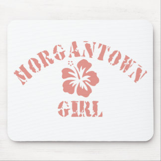 Morgantown Pink Girl Mouse Pad