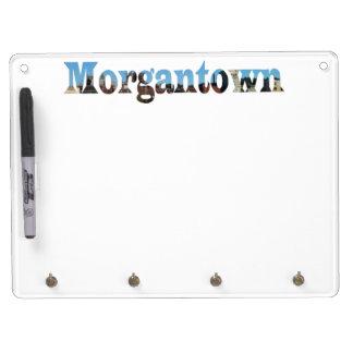 Morgantown Skyline Word Cutout Dry Erase Boards