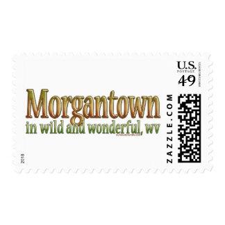 Morgantown, Virginia Occidental Estampillas