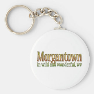 Morgantown, West Virginia Keychain