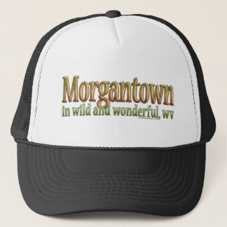 Morgantown, West Virginia Trucker Hat