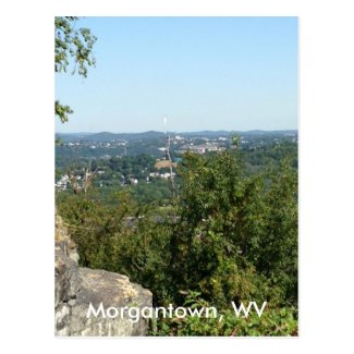 Morgantown WV Photo from Dorseys Knob Postcards