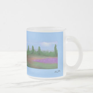 Morgenstille Silence Frosted Glass Coffee Mug